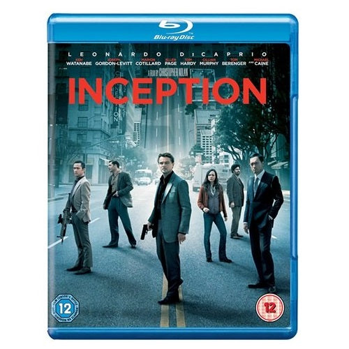 Blu-Ray - Inception (12) Preowned