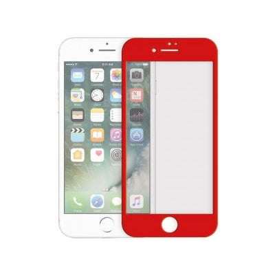 TEMPERED GLASS - IPHONE 7 PLUS (RED)
