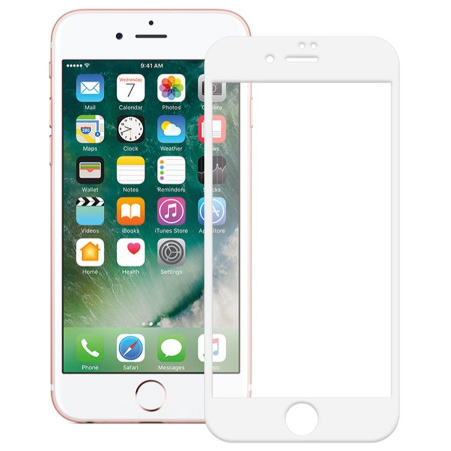 TEMPERED GLASS - IPHONE 7 PLUS (WHITE)