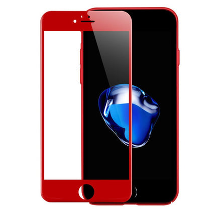 TEMPERED GLASS - IPHONE 7 (RED)