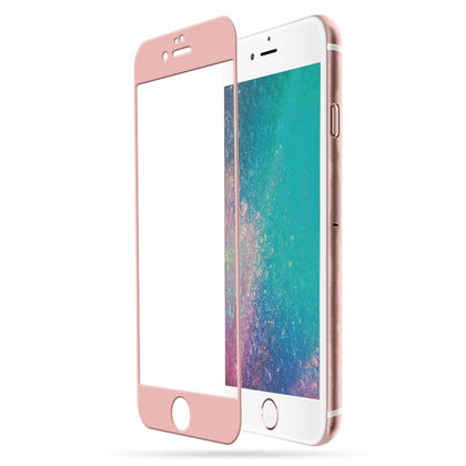 TEMPERED GLASS - IPHONE 7 (ROSE GOLD)