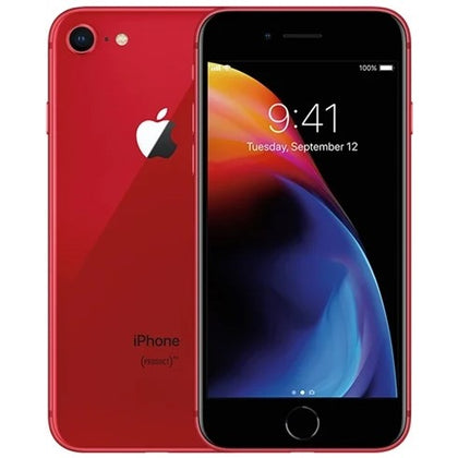 Apple iPhone 8 Red 64gb EE Grade B Preowned