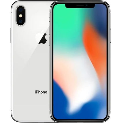 Apple iPhone X Silver 64gb Unlocked Grade B Preowned