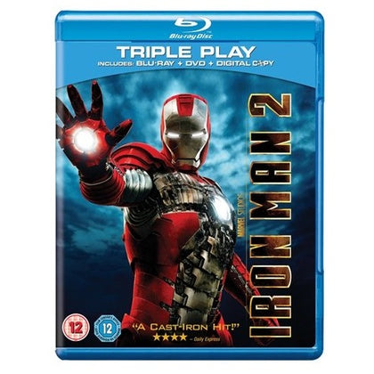 Blu-Ray - Iron Man 2 (12) Preowned