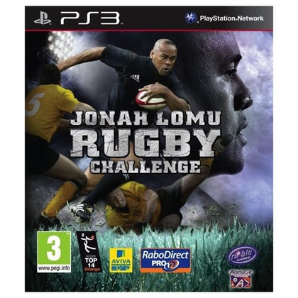 PS3 - Jonah Lomu Rugby Challenge (3) Preowned