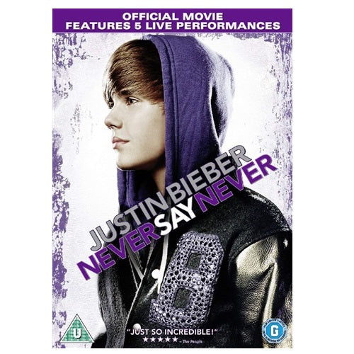 Blu-Ray - Justin Bieber Never Say Never (U) Preowned