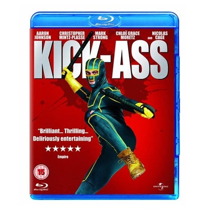 Blu-Ray - Kick-Ass (15) Preowned