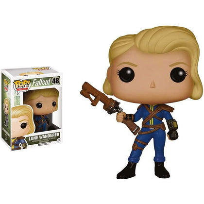 Pop! Vinyl Fallout (48) Lone Wanderer [Female] Preowned