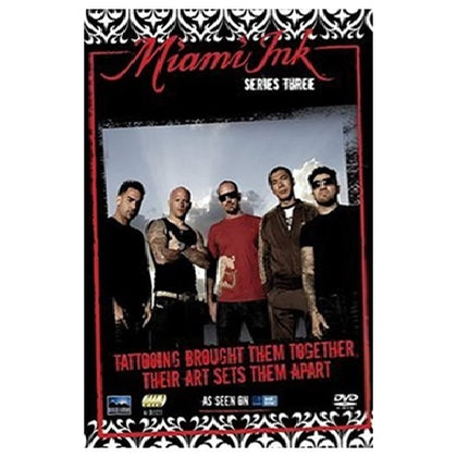DVD Boxset - Miami Ink Series 3 Preowned