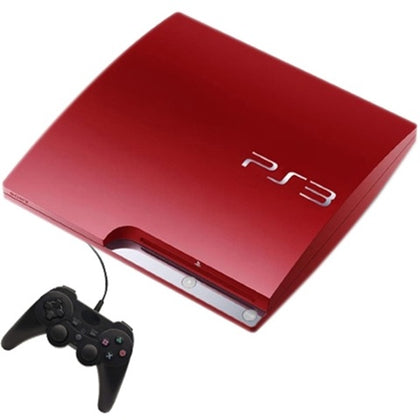 Playstation 3 Slim 320GB Console Red Preowned