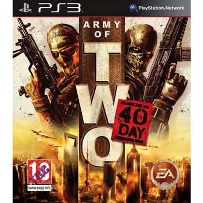 PS3 - Army Of Two: The 40th Day (18) Preowned