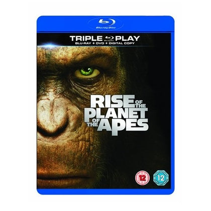 Blu-Ray - Rise Of The Planet Of The Apes (12) Preowned