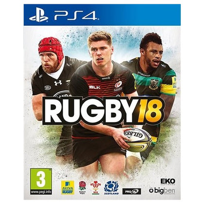 PS4 - Rugby 18 (3) Preowned