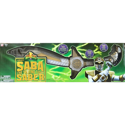 Power Rangers Legacy Saba The Talking Tiger Saber Sword Collection Only Preowned