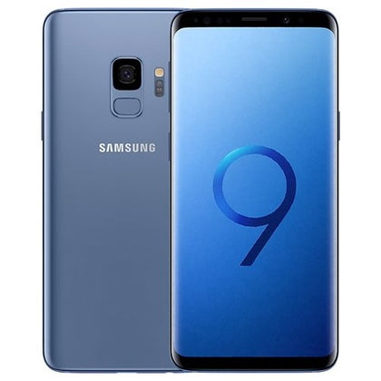 Samsung S9 Coral Blue 64gb Unlocked Grade C Preowned