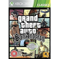 Xbox 360 - Grand Theft Auto San Andreas (18) Preowned
