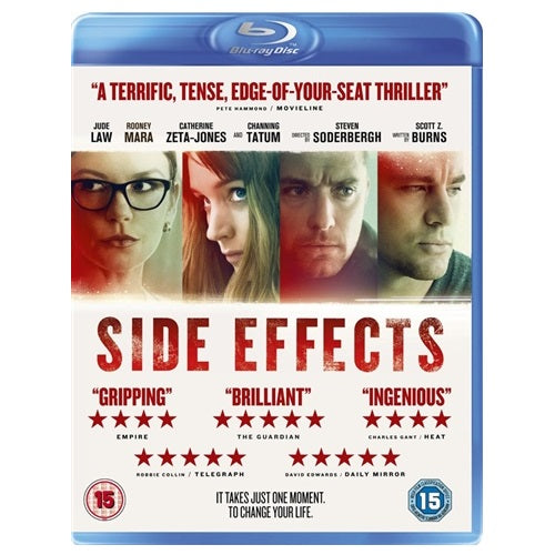 Blu-Ray - Side Effects (15) Preowned