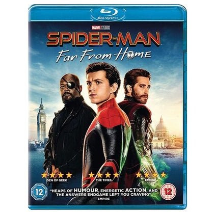 Blu-Ray - Spider-man Far From Home (12) Preowned