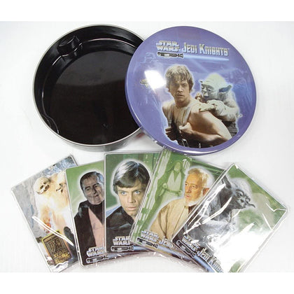 Star Wars Jedi Knights Metal Cards