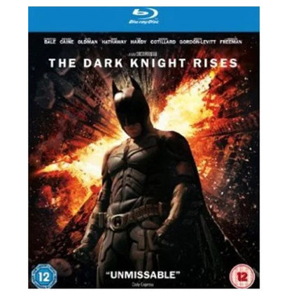 Blu-Ray - The Dark Knight Rises (12) Preowned