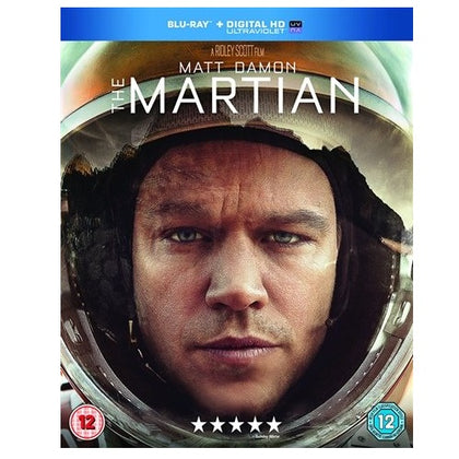 Blu-Ray - The Martian (12) Preowned