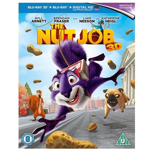 Blu-Ray - The Nut Job 3D (U) Preowned