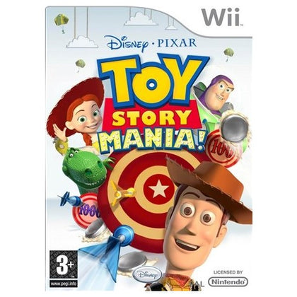 Wii - Toy Story Mania! (3) Preowned