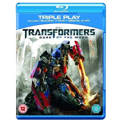 Blu-Ray - Transformers Dark Of The Moon (12) Preowned