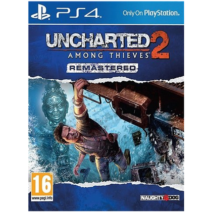 PS4 - Uncharted 2 Among Thieves Remastered (16) Preowned