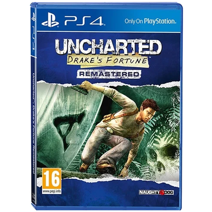 PS4 - Uncharted Drake's Fortune Remastered (16) Preowned