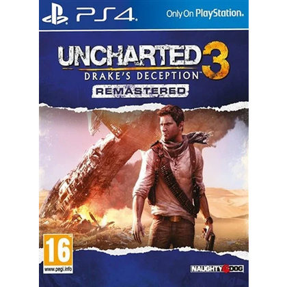 PS4 - Uncharted 3 Darke's Deception Remastered (16) Preowned