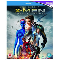 Blu-Ray - X-men Days Of Future Past (12) Preowned