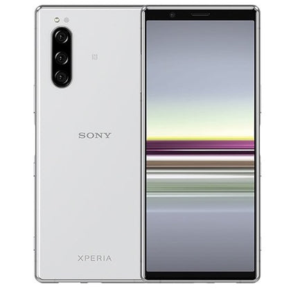 Sony Xperia 5 Grey 128gb Unlocked Dual Grade B Preowned