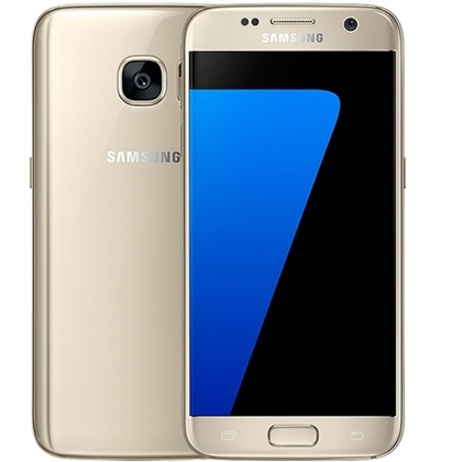 Samsung S7 Gold 32gb Unlocked Grade C Preowned