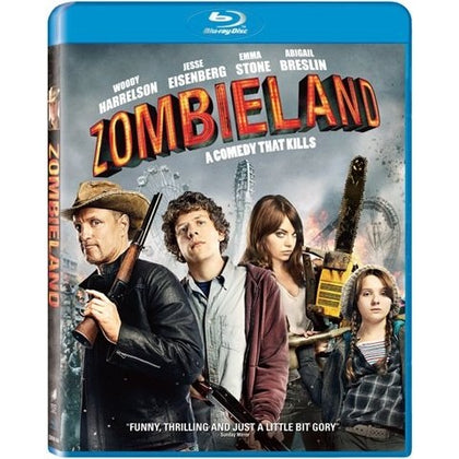 Blu-Ray - Zombieland (15) Preowned