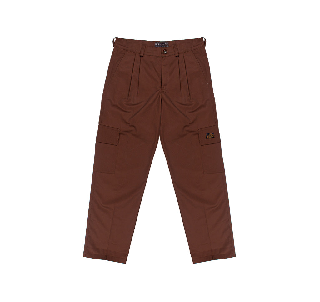Cargo Pants Dark Brown Hombre