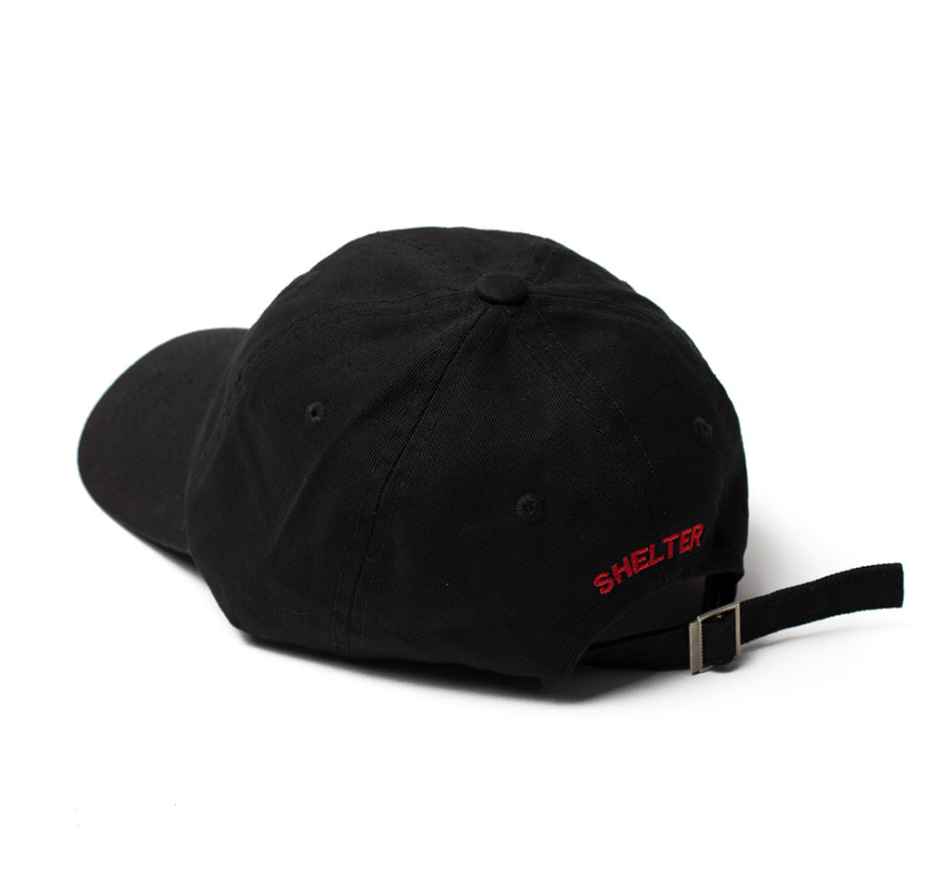 SHLTR Dad hat's Black Twice