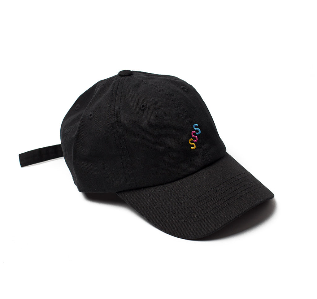 SHLTR Dad hat's Black Triple S
