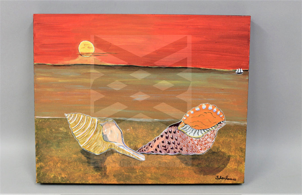 Stanley Laifoo - Seashell Sunset Small