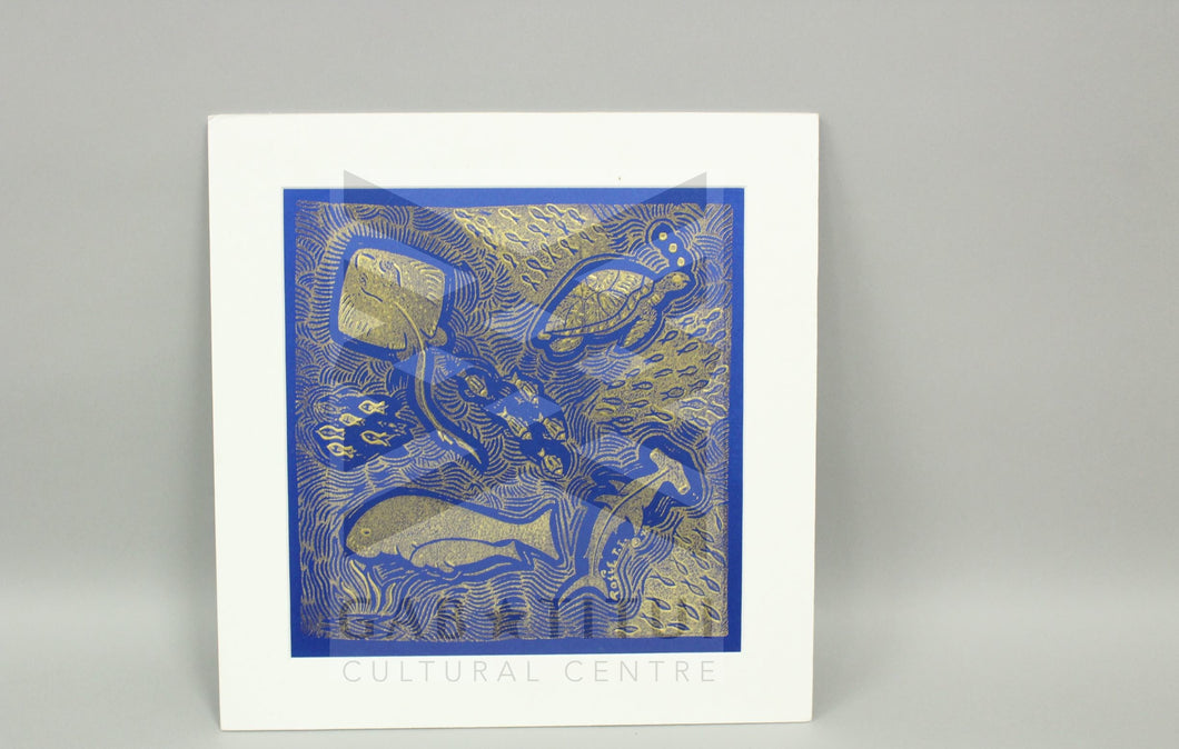 Rosie Ware - Matted Print Sea Creatures