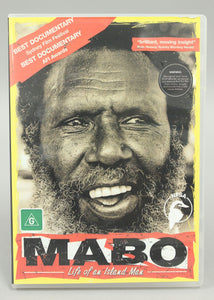DVD – MABO: Life of an Island Man
