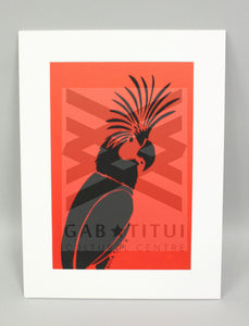 Rosie Ware - Matted Print Cockatoo (small)
