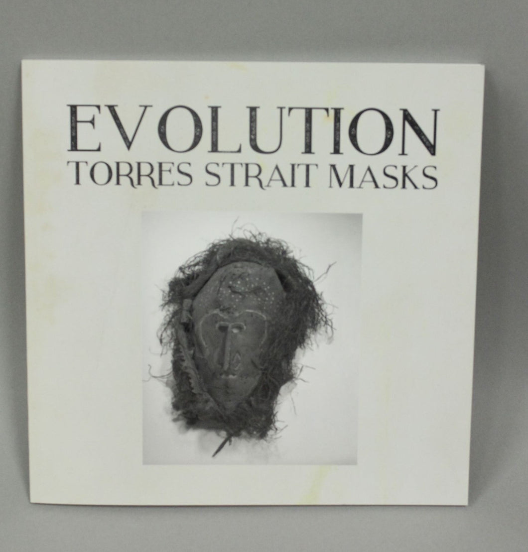 Book – Evolution Mask (old) White Cover