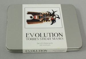 Gift Card - Evolution - Torres Strait Mask Cards Set x 6