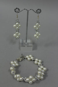Frances Visini - Bracelet/Earring Set Large