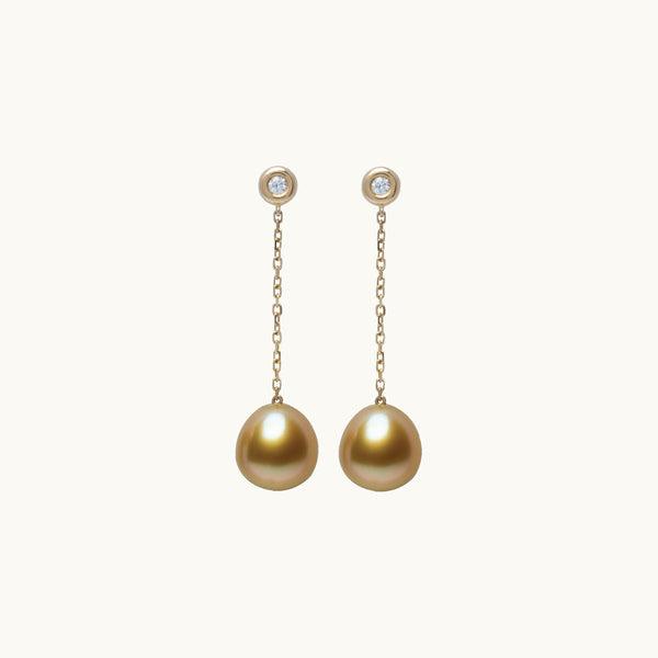 Champagne Dangling Earrings