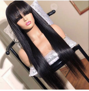 S125|  Gorgeous Natural StraightWig| 360 Lace | Human Hair