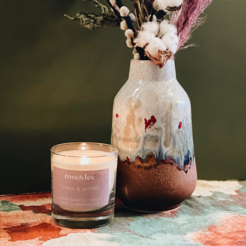 Rose & Lee Deluxe Hand Poured Candle