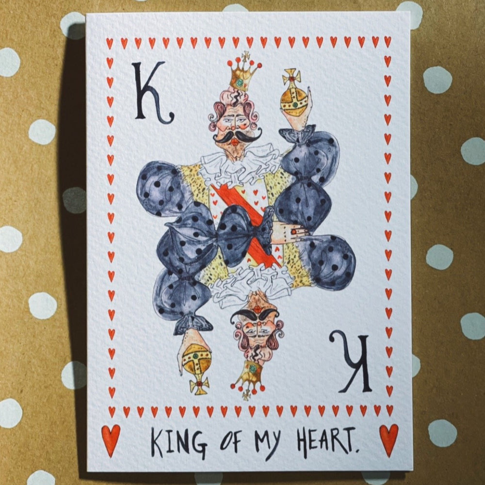 Brigerton King of My Heart Card