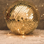 Large Gold Disco Ball